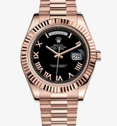Réplica Rolex Day-Date II Watch: 18 ct everose ouro - M218235-0034